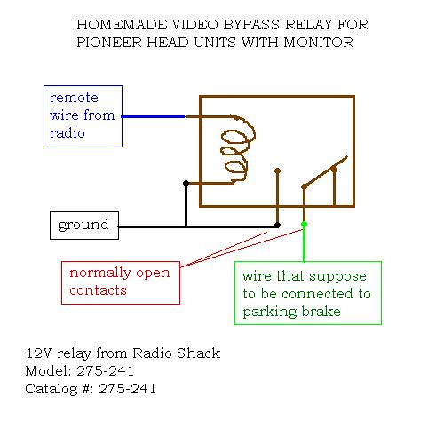 Bypass Relay Wiring Diagram : Pole relay wiring diagram get free image about