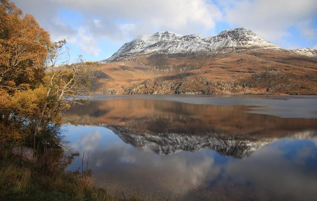 Loch Maree, Slioch.