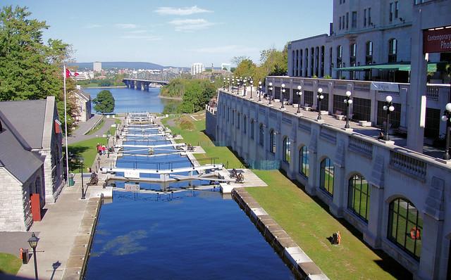 Locks in the Rideau Canal - Ottawa