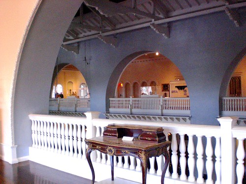 Arches of the ballroom