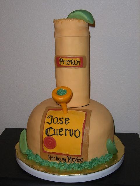 Jose Cuervo Cake