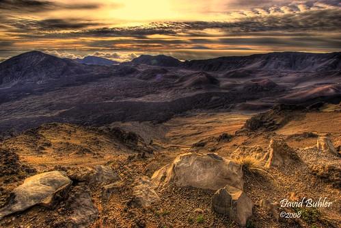 world sunrise landscape golden maui haleakala hdr buhlers crayok