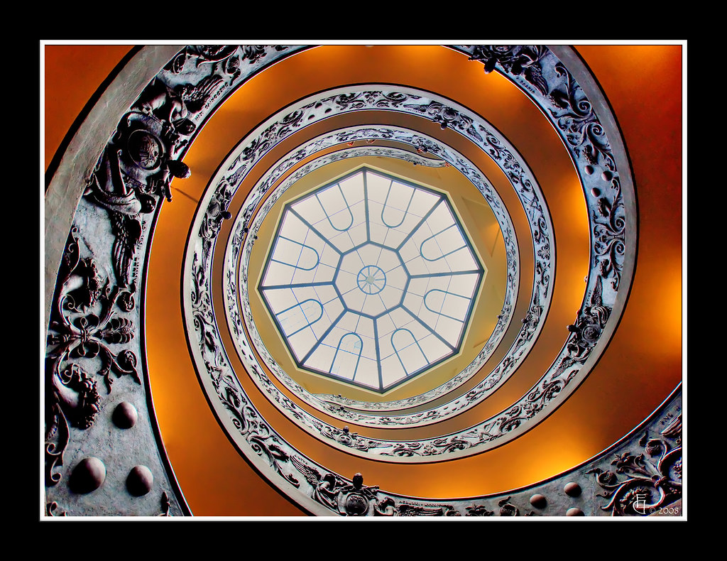 Roma musei vaticani scala a chiocciola a photo on - Scale a chiocciola roma ...