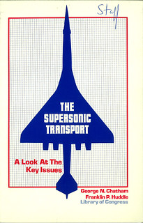 Supersonic transport, circa 1972