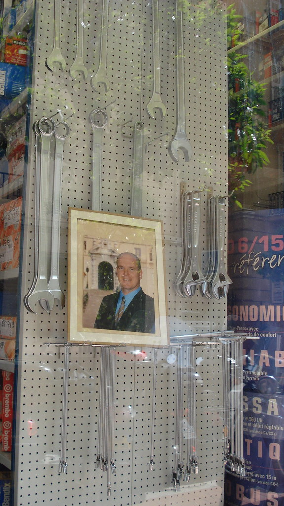 Hardware store, Monaco | When you don't have a candidate for… | Flickr