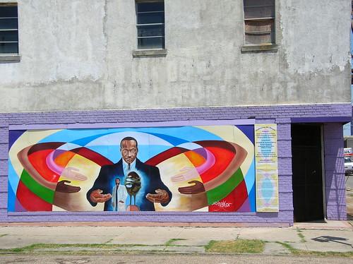 King mural