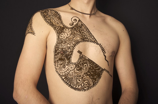 Mens Mehndi Tattoo : Mehndi bridal desgins for brides dresses dulhan