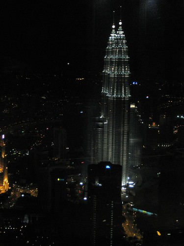 View across the city/KL