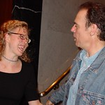 Marquee members talk with John Hiatt after his exclusive performance for WFUV