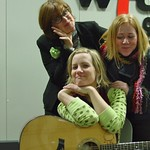 Thu, 28/02/2008 - 11:36am - Katie Herzig in WFUV's Studio A with Claudia Marshall