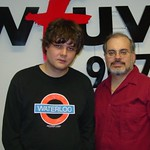 Ron Sexsmith at WFUV with Darren DeVivo