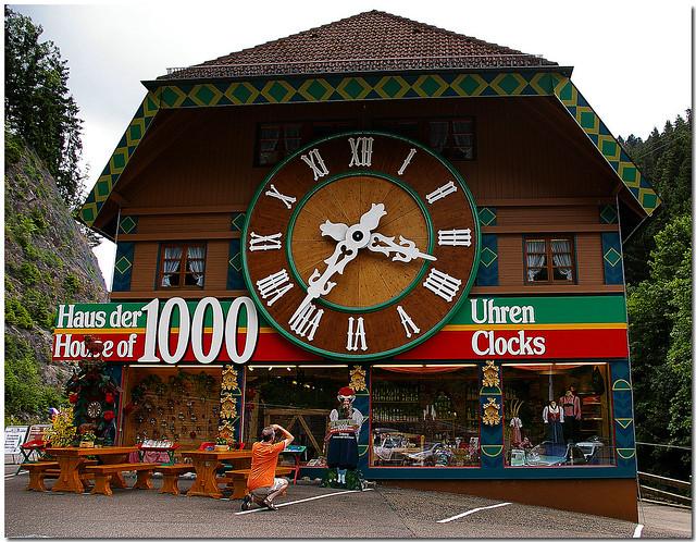 Haus Der 1000 Uhren