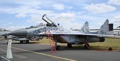 mcdonnell douglas f/a-18 hornet(0.0), mcdonnell douglas f-4 phantom ii(0.0), mcdonnell douglas f-15 eagle(0.0), mcdonnell douglas f-15e strike eagle(0.0), aviation(1.0), airplane(1.0), vehicle(1.0), fighter aircraft(1.0), mikoyan mig-29(1.0), jet aircraft(1.0), air force(1.0),