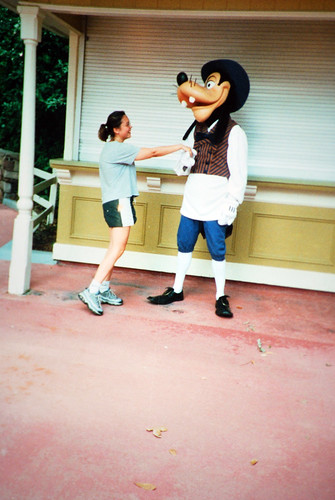 Amanda and Goofy 2000 by Amanda's Weekly Zen
