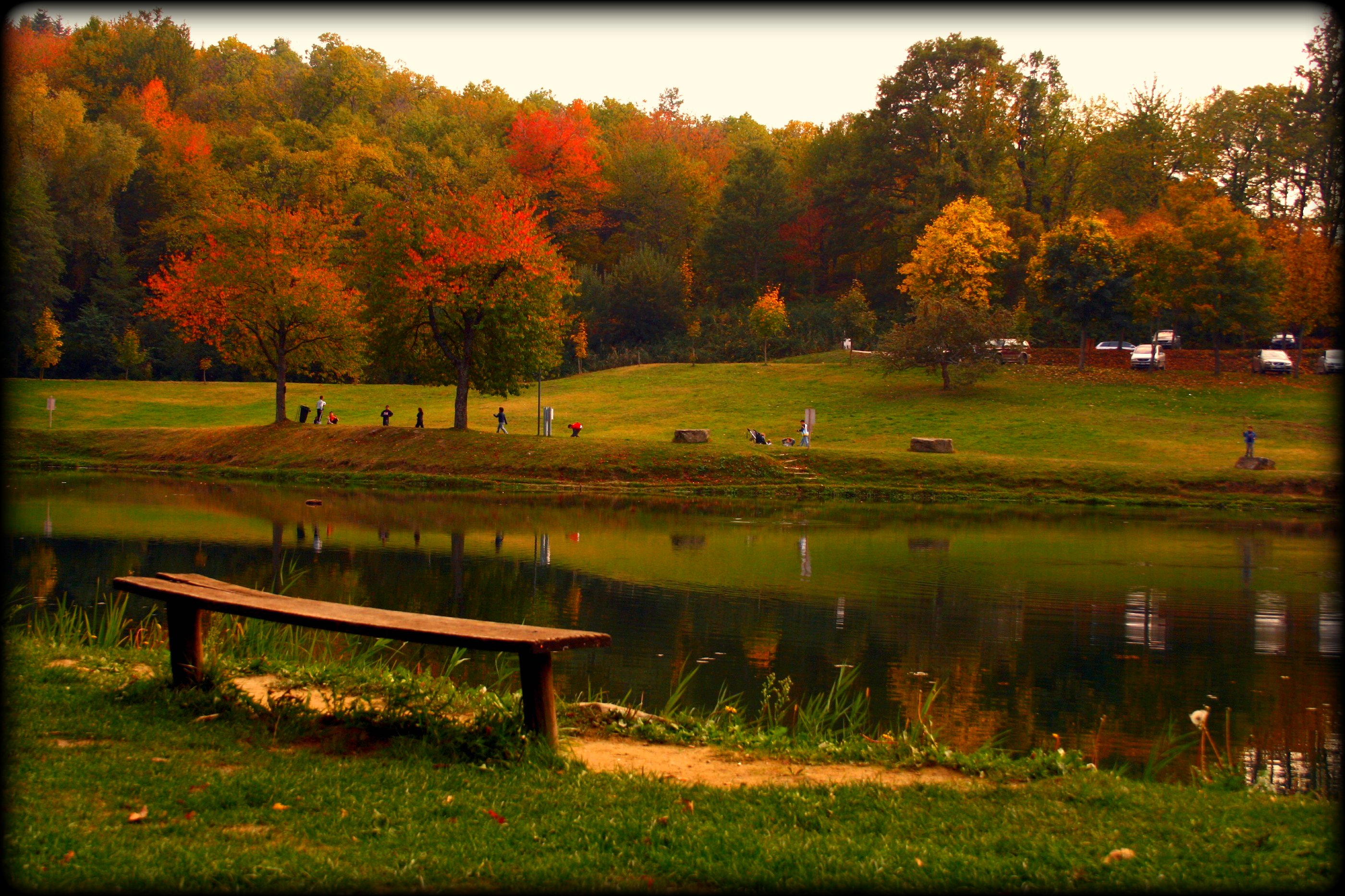 Autunno al lago flickr photo sharing - Lago pontini bagno di romagna ...