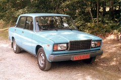 My Lada 2107 in France - Photo of Thury-Harcourt