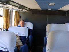 36 hours on the bus from Tucuman to Bariloche