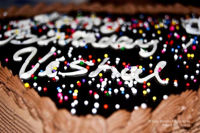 Birthday Cake Image Vishal : Happy Birthday - Vishal - Day58(12/12/08) Flickr - Photo ...