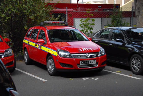 new london fire brigade offices car
