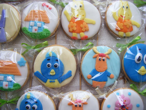 Backyardigans Cookies