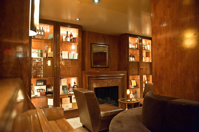 The Brandy Library, Manhattan, New York City.