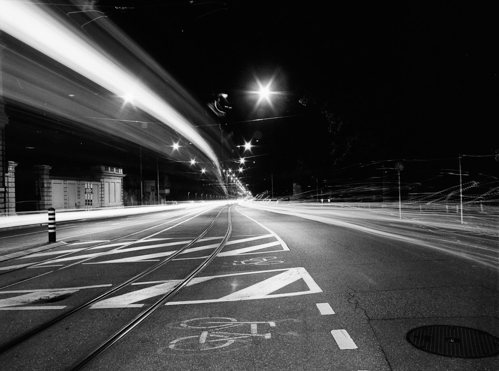 Tram & Cars