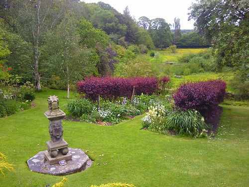 Sundial at Inveresk Lodge Gardens