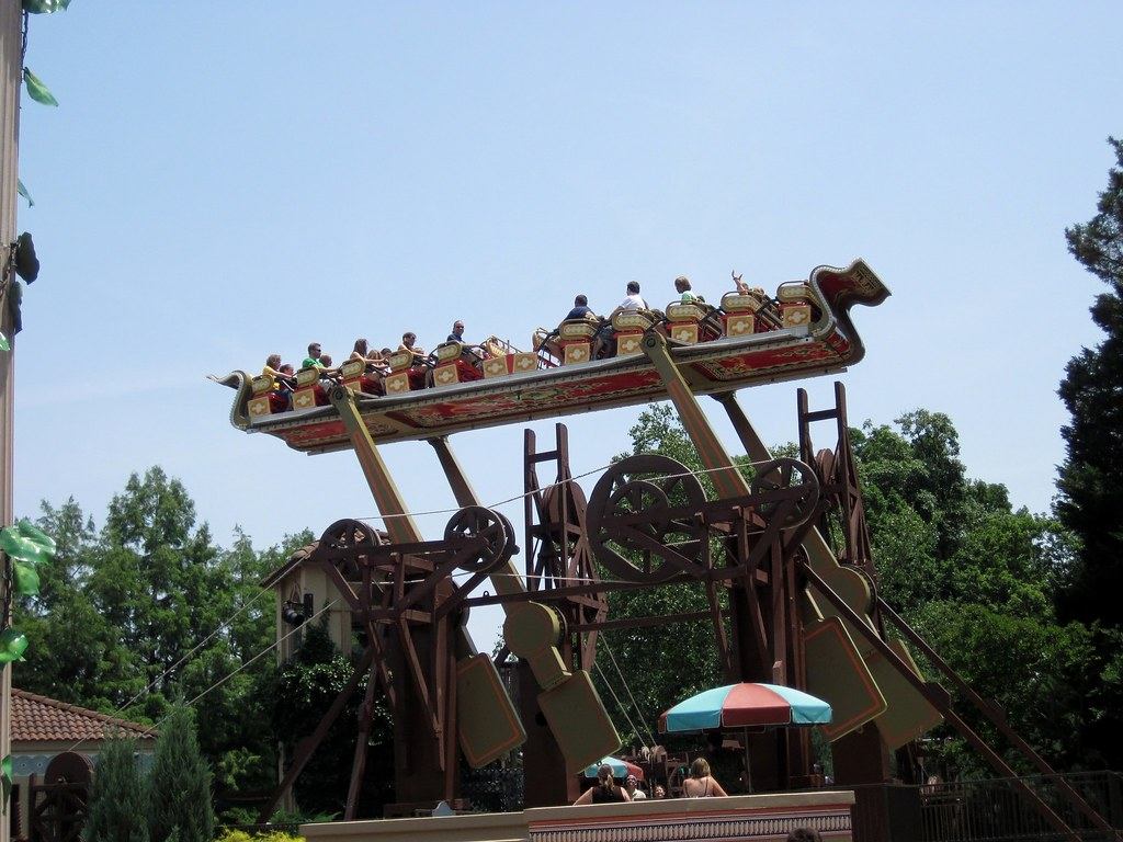 Busch Gardens Williamsburg Tr Long Roller Coasters Theme Parks Attractions Forum