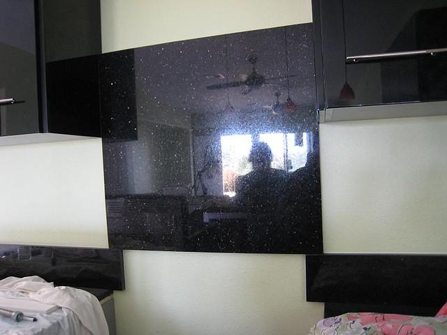 black granite backsplash a photo on flickriver