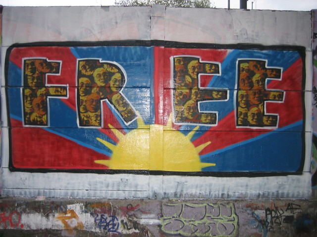 Photo:free tibet By:yoghaert