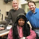 Odetta at WFUV with John Platt