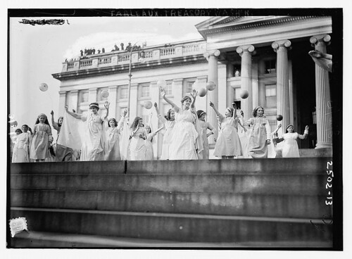 Tableaux, Treasury Wash., D.C.  (Suff. Pageant)  (LOC)