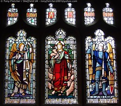 Churches and Stained Windows