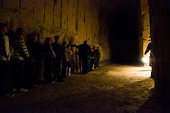 Maastricht - Sint Pietersberg Caves / Mines, Walking in the Dark