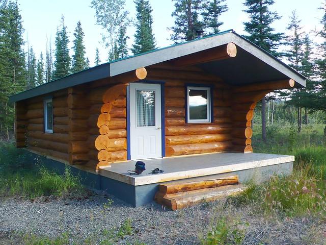 Log Cabin On Wheels for Sale