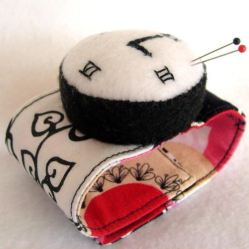 watch wrist pincushion