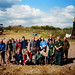 Wildlife Pond Volunteers (2003) by Durlston Country Park