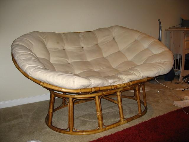 Double papasan chair cushion chair pads cushions for Double papasan chair cushion