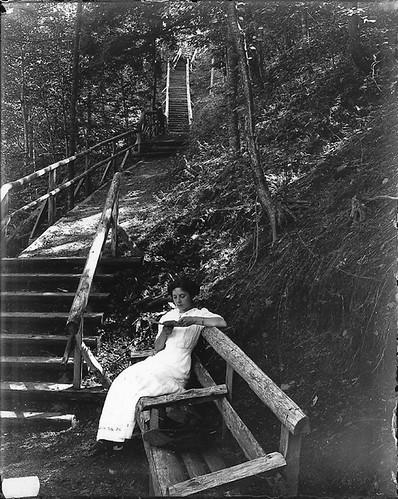 A quiet nook, Victoria Park, Truro, NS, probably 1915