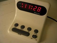 alarm clock(1.0), electronics(1.0), clock(1.0),