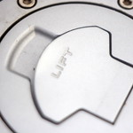 BMW motorcycle gas cap