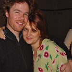 Josh Ritter with Claudia Marshall at WFUV