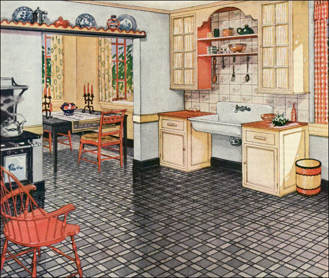 1920s Kitchens A Gallery On Flickr