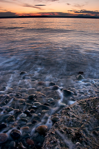 ocean seattle sunset sea beach landscape rocks picture foam alki pugetsound streaks unforgettable the mywinners aplusphoto ourplanet theunforgettablepictures platinumheartaward