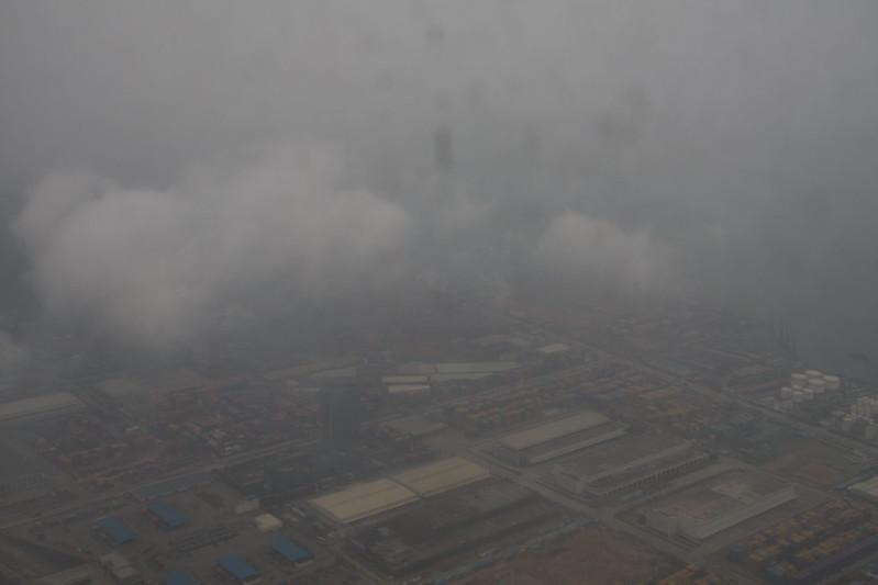 Gleamingly shown Shenzhen city