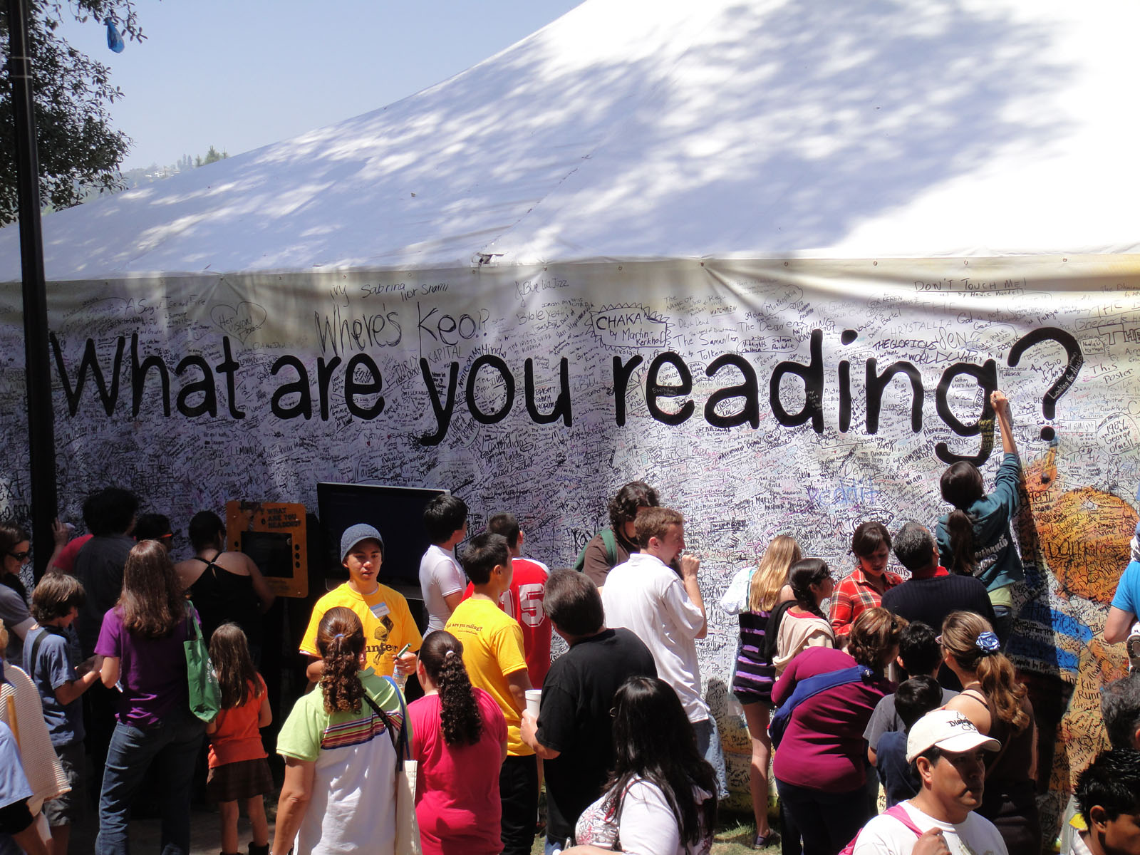 LA Times Festival of Books 2010 - What Are You Reading?
