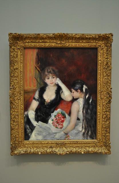 At the Concert  Pierre-Auguste Renoir