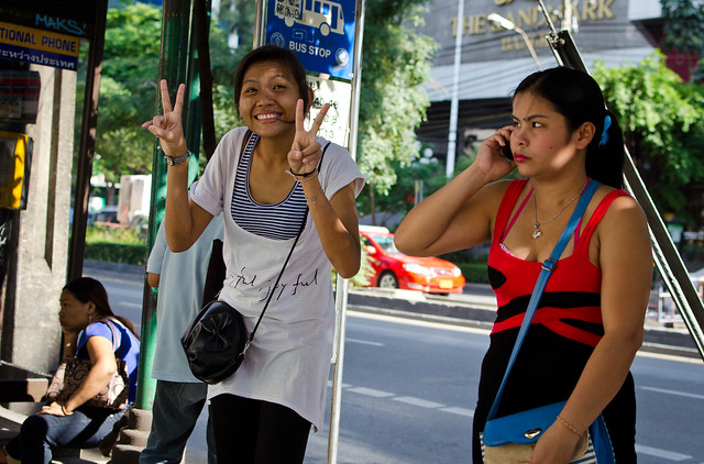 Flickriver Photoset Street Walkers By Adrian In Bangkok-2351