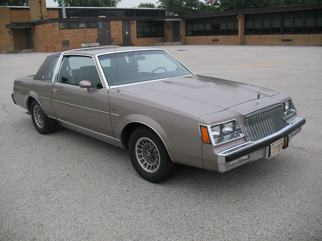 1983 Buick Regal T-Type Turbo V6 - FOR SALE - an album on ...