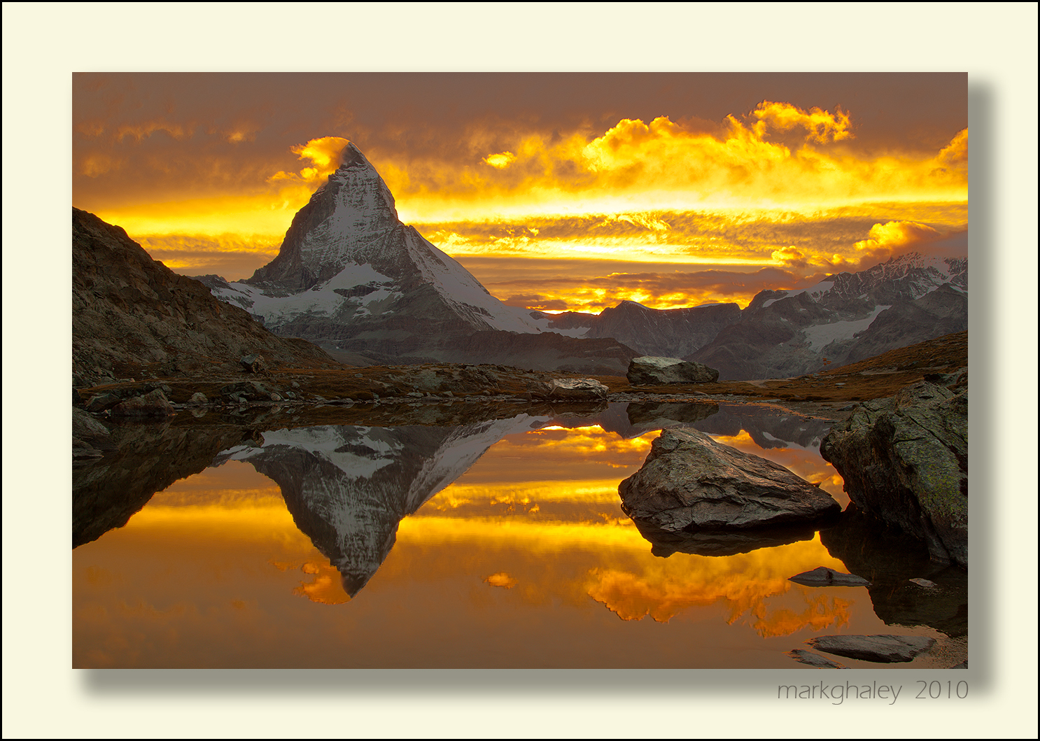 Amazing Matterhorn Sunset